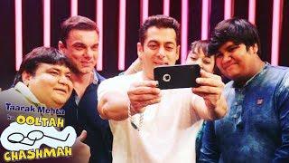 Salman And Sohail On Taarak Mehta Ka Ooltah Chashmah For Tubelight Promotion