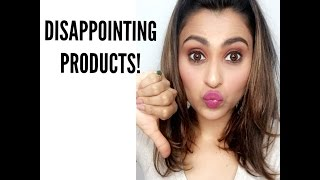 MOST DISAPPOINTING PRODUCTS| (HAIR, SKIN AND MAKEUP)