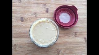 How to make Tahini Paste | Homemade Tahini Recipe