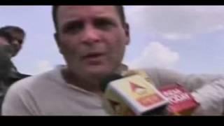 Na kisaano ka karza maaf karte hain,na bonus dete; bas goliyaan dete hain: Rahul Gandhi in Mandsaur