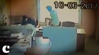 Man Kicks Female Colleague for Coming Late to Work