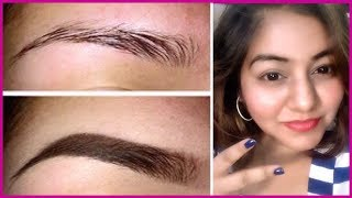 Easy EyeBrow Tutorial at Home | 2 Ways for Perfect Eyebrows | JSuper Kaur