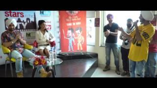 Diljit Dosanjh at Fever FM Studios for Super Singh!