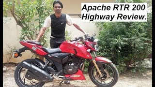 Apache RTR 200 & DUKE 390 Highway Ride and Review.