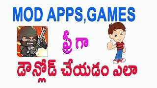 How to download mod games Very Easy Way | Telugu Tech Tuts
