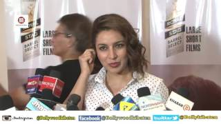 Gulshan Devaiya & Tisca Chopra At Screening Of Short Film The School Bag