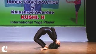 13yearold sets world record for performing yoga under a