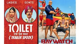 Toilet Ek Prem Katha | Baywatch | Trailer Spoof | MOB