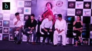 Indu Sarkar Official Trailer Launch | Kriti Kulhari,Neil Nitin Mukesh,Anupam Kher, Madhur Bhandarkar