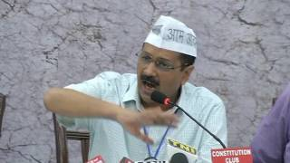 Aap National Convenor Arvind kejriwal Addresses Farmer Representatives at National Farmers Conclave