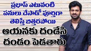 ప్రభాస్ గురించి పూర్తిగా తెలిస్తే దండేసి దండం పెడతారు  Saaho Prabhas Helping Nature  Top TeluguTV