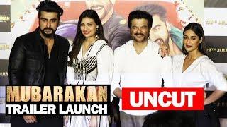 UNCUT - Mubarakan Trailer Launch Arjun Kapoor, Anil Kapoor, Ileana D'Cruz, Athiya Shetty