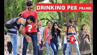 Drinking PEE Prank On GIRLS - AWESOME Reactions (Pranks In INDIA 2017)
