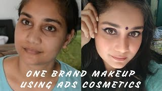 One Brand Makep Using ADS Makeup Eid 2017 Makeup look  Nidhi Katiyar