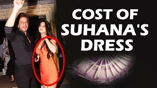 Shahrukh's Daughter Suhana Orange Dress Cost Will Shock You