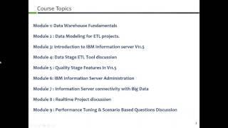 Implementing ETL Solution using IBM DataStage