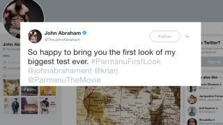 John Abraham First look | Parmanu-The Story Of Pokhran