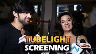 Himesh Reshammiya With Girlfriend At Salman's Tubelight Screening