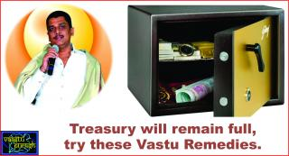 #Treasury will remain full, try these Vastu Remedies.