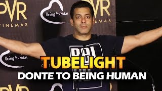 Donate To Salman's Being Human By Just Watching TUBELIGHT