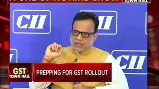 CII-CNBC Interactive Session with Dr Hasmukh Adhia, Revenue Secretary, Ministry of Finance on GST
