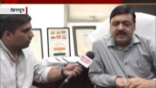 india voice correspondent interview with president of development authority vinay shankar pandey