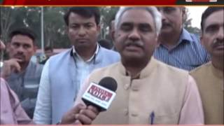 india voice correspondent interview with bjp candidate Madan Kaushik
