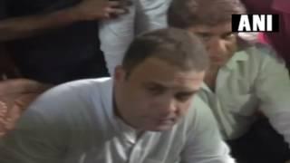 पूरे हिंदुस्तान में दलितों को कुचला जा रहा है : राहुल गांधी