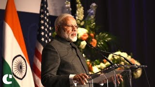 ndia has shown its power against terrorism through surgical strikes : PM Modi in US