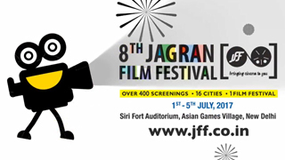 8th Jagran Film Festival 2017 Opening Animation.