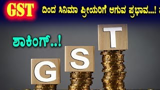 GST impact on Kannada film industry Bad News for Movie Fans  Top Kannada TV