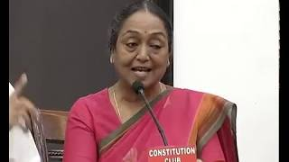 Press Briefing by the Presidential candidate Smt. Meira Kumar, Constitution Club