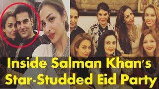 Inside Salman Khan's Star-Studded Eid Party : Salman Khan's EID Party 2017 At His House