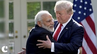 'I congratulate PM Modi for doing a great job in India' : President Donald Trump on Narendra Modi