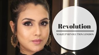 ONE BRAND MAKEUP TUTORIAL | MAKEUP REVOLUTION LONDON | FISRT IMPRESSIONS