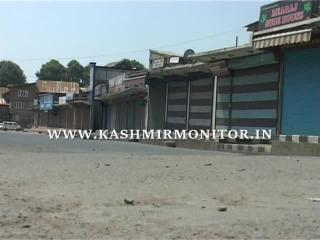 Kashmir: Restrictions in Srinagar continue for 3rd day