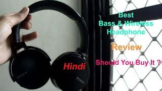 Sony Bluetooth Wireless Headphone MDR XB650BT Review In Hindi | Tech Render |