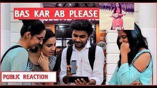 Delhi Ne Chalaya DHINCHAK POOJA Ka Scooter   Public Reacts