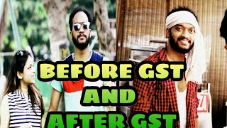 People Before and After GST Bill