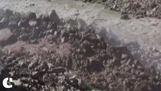 Landslides triggered due to heavy rainfalls in Himchal Pradesh