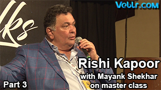 Coffee Table Part 3 - Rishi Kapoor with Mayank Shekhar on Master Class - 8th Jagran Film Festival - Exclusive Video #JFF2017
