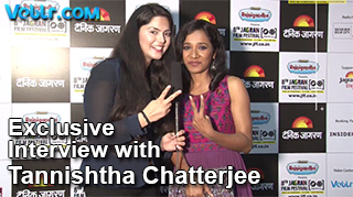 Exclusive Interview with Tannishtha Chatterjee in 8th Jagran Film Festival 2017