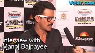 Interview With Manoj Bajpayee At 8th Jagran Film Festival 2017 - Exclusive