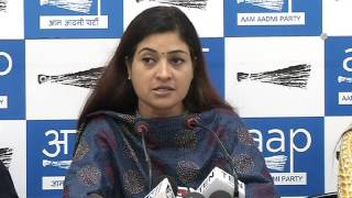 Aap Mla's Brief Media on Fir lodge on 3 Aap Mla's