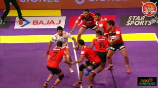 Top 7 raids of Deepak Niwas Hooda in Pro Kabaddi League Season 4