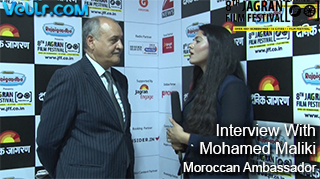 Exclusive Interview With Mohamed Maliki Moroccan Ambassador in 8th Jagran Film Festival 2017