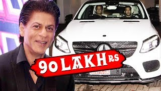 Rs 90 Lakh Is The Price Of Shahrukh Gifted Car To Salman