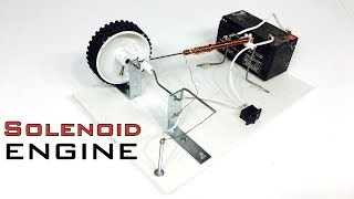 How To Build SOLENOID ENGINE At Home | Indian LifeHacker