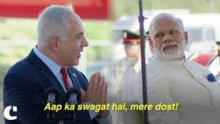 'Aap ka swagat hai, mere dost!' Israel PM Benjamin Netanyahu welcomes PM Narendra Modi in Hindi