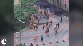 Mob Attacks Noida Housing Society after Maid Beaten up for Theft